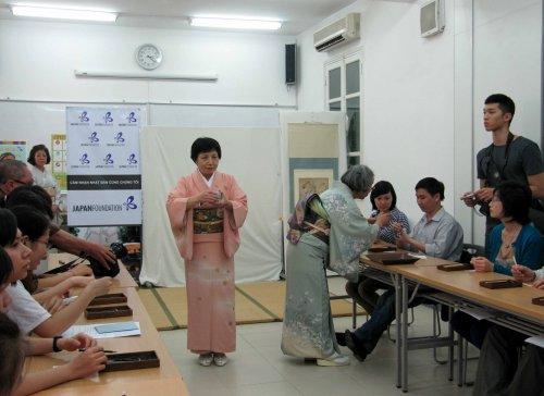 Lớp học nghe hương